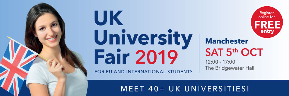 UK University Fair Manchester Education Fair