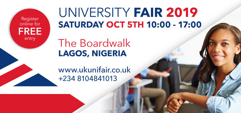 UK University Fair Lagos, Nigeria
