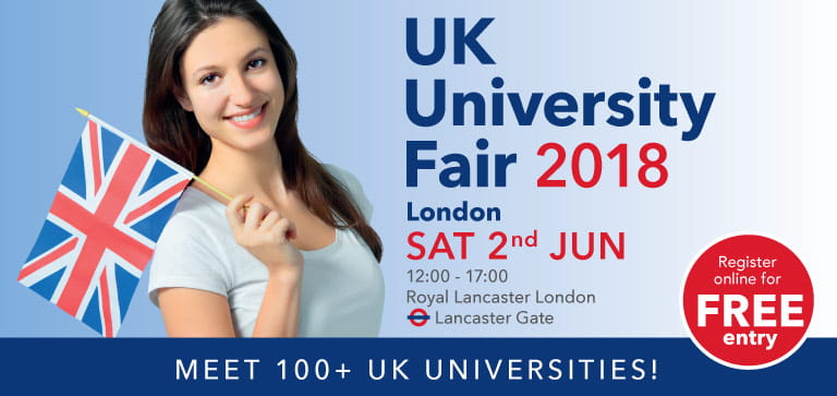 SI-UK University Fair London 2018