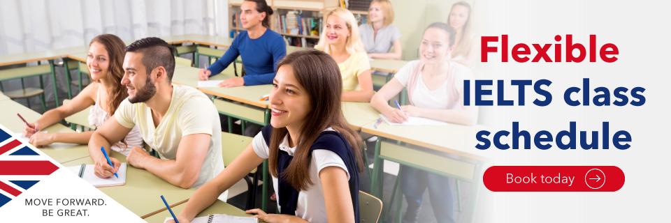 IELTS Classes Flexible Part-time