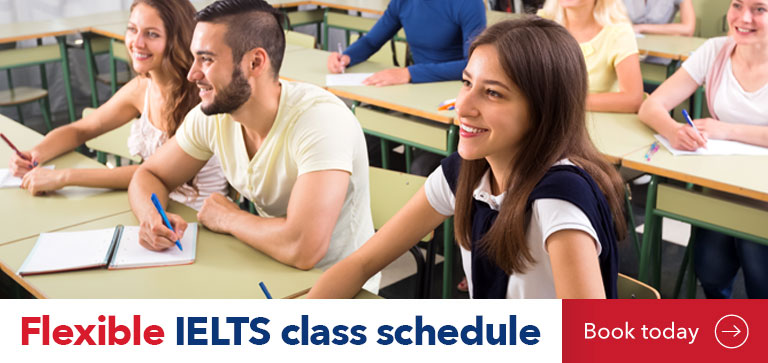 IELTS Classes Flexible Part-time