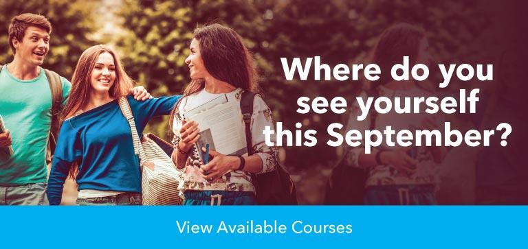 Apply university course September