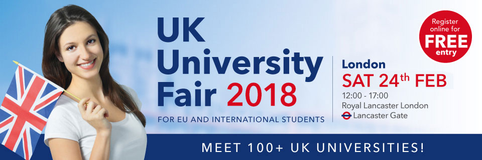 London UK University Fair, February 2018