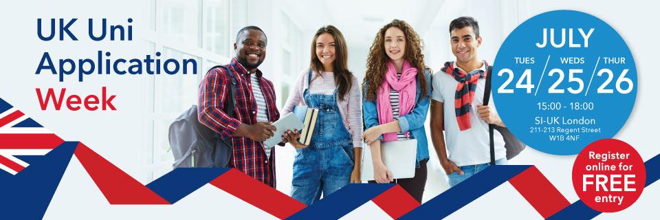 UK Uni Application Week London - Meet 30+ UK Universities