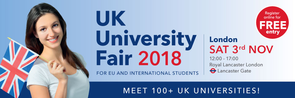 UK University Fair London Meet 100 Universities