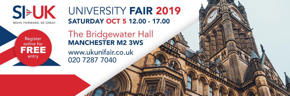 UK University Fair Nov 2019