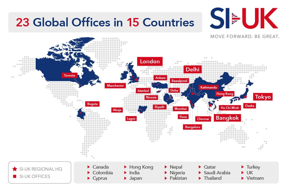 SI-UK Global Map