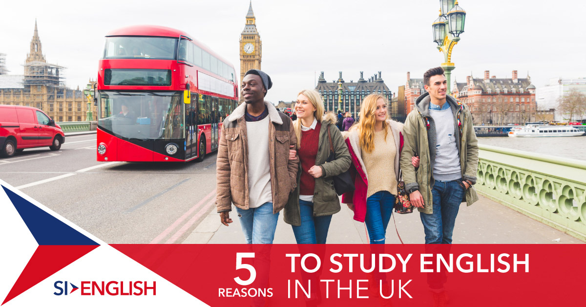 Five reasons to study English in the UK