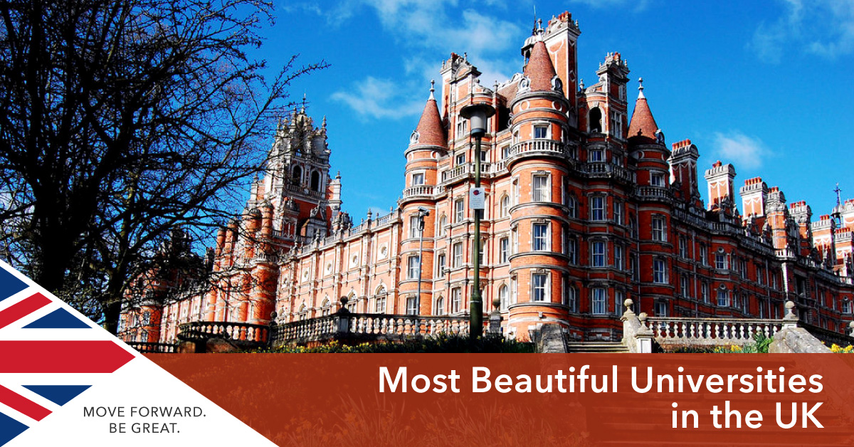 Beautiful universities in the UK