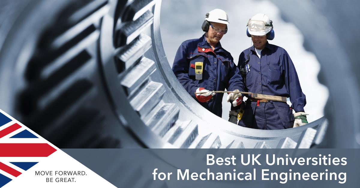 Study Mechanical Engineering UK