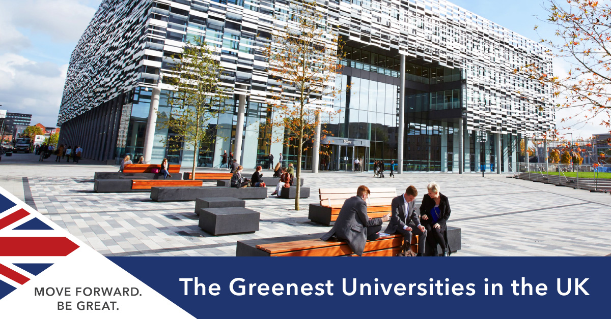 Greenest Sustainable Universities UK