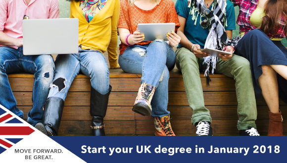 UK University January 2018 Entry