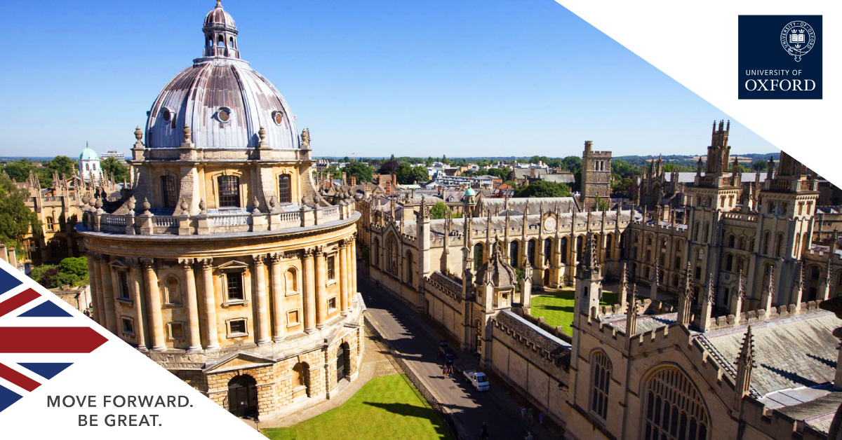 Apply Oxford University