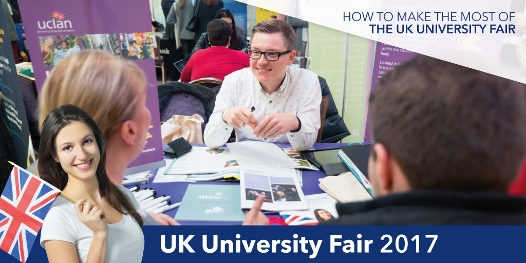 Be prepared for the UK University Fair