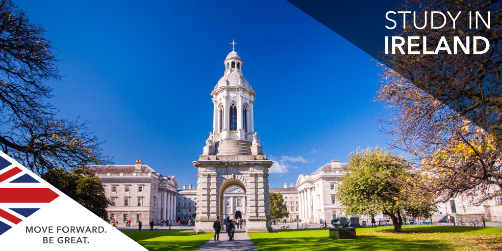 Seven reasons to study in Ireland
