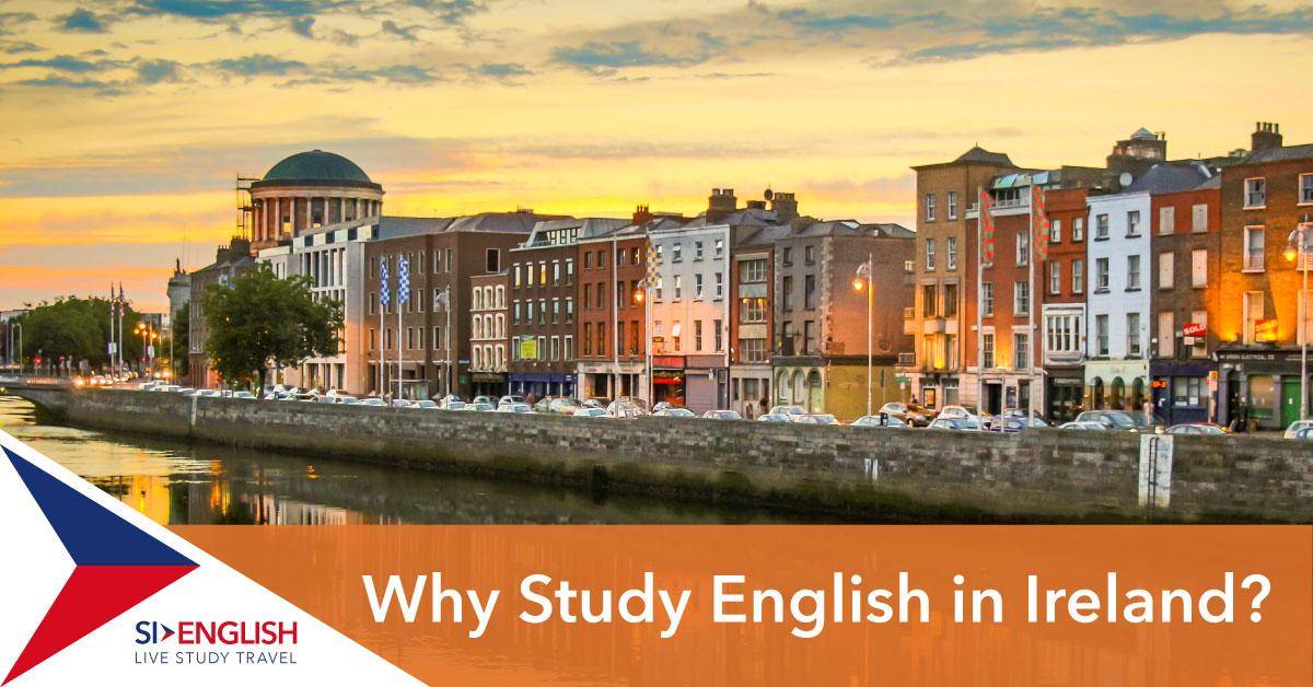 Study English Ireland Dublin