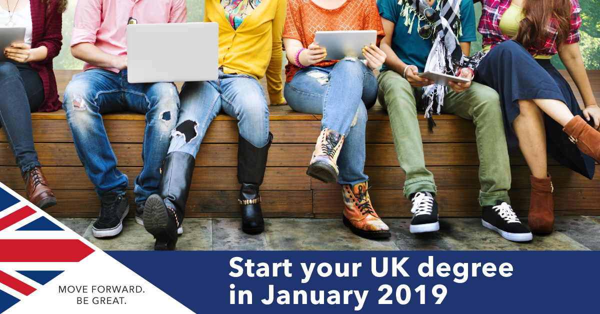 UK University January 2019 Entry