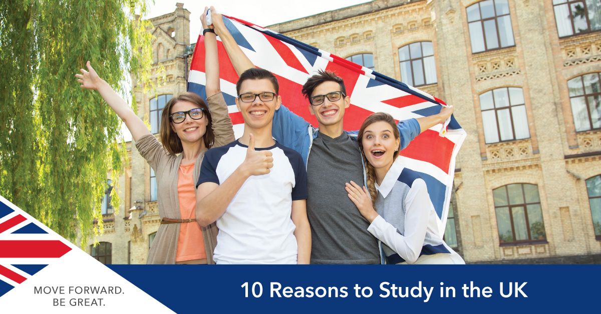 Reasons to Study in the UK