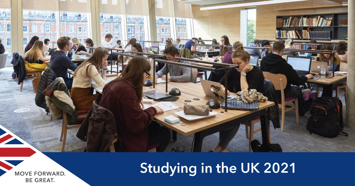 Study in UK 2021 Guide