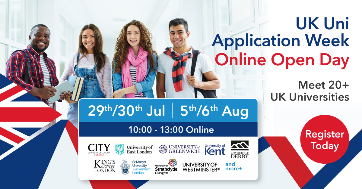 UK University Application Week September 2020