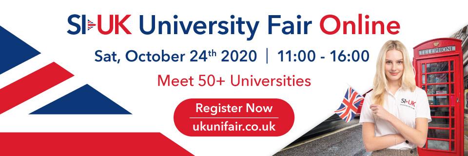 SI-UK University Fair Online London